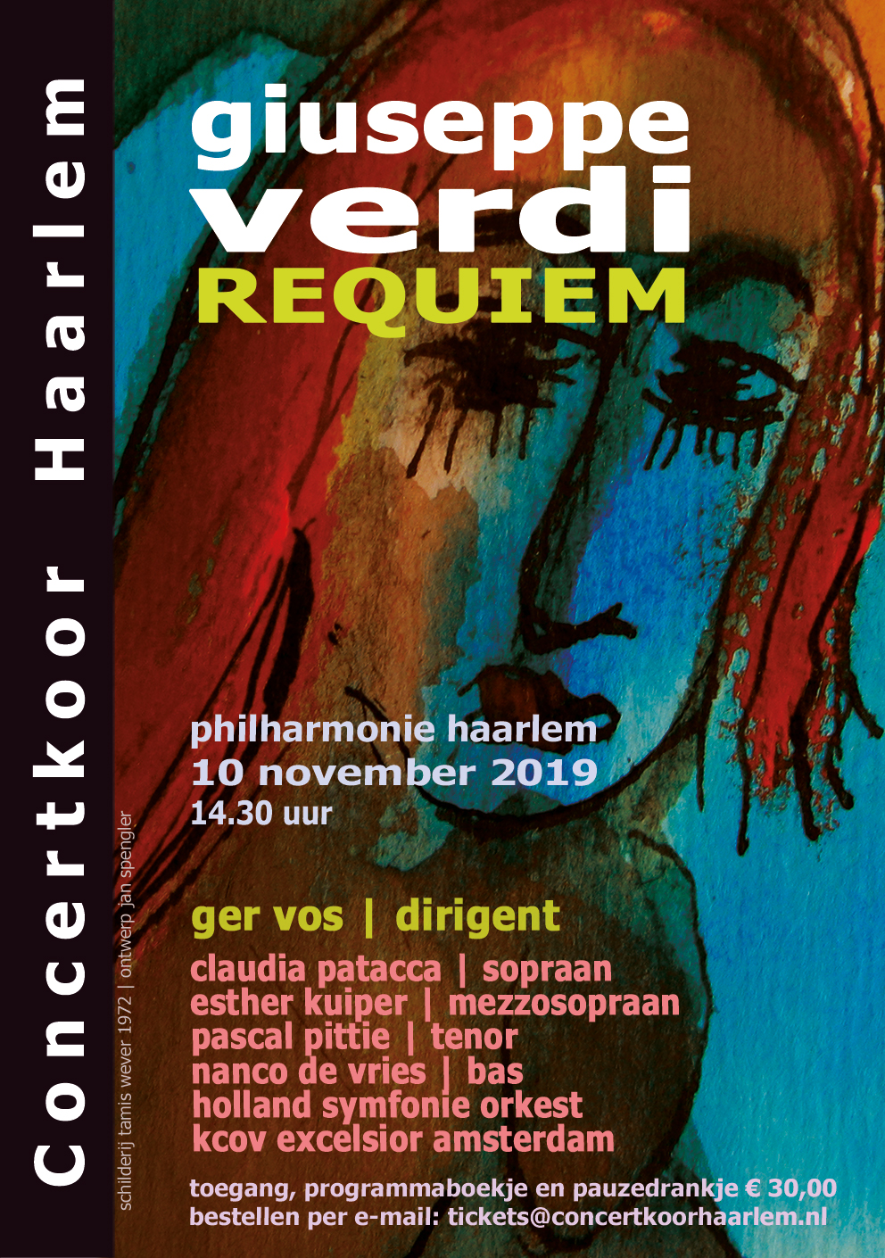 Affiche Requiem by Verdi, 2019
